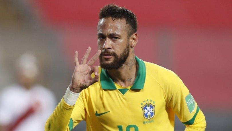 Neymar, Brezilya Milli Takımı'nın 2. en skorer futbolcusu oldu