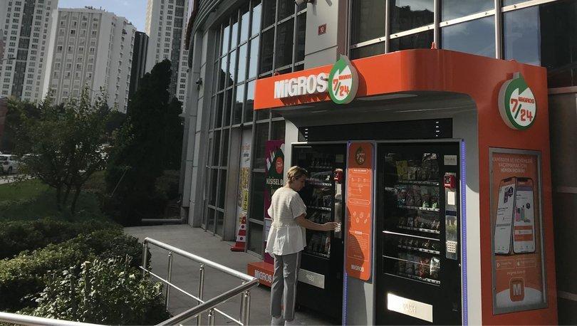 Migros self servis mağaza açtı