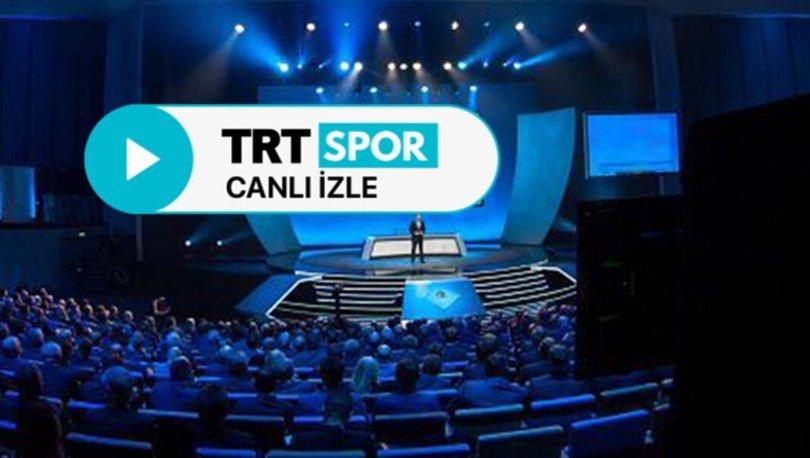 TRT Spor CANLI İZLE: 14 Ekim TRT Spor Türkiye Sırbistan maçı canlı yayın izleyin! TRT Spor canlı yayın akışı