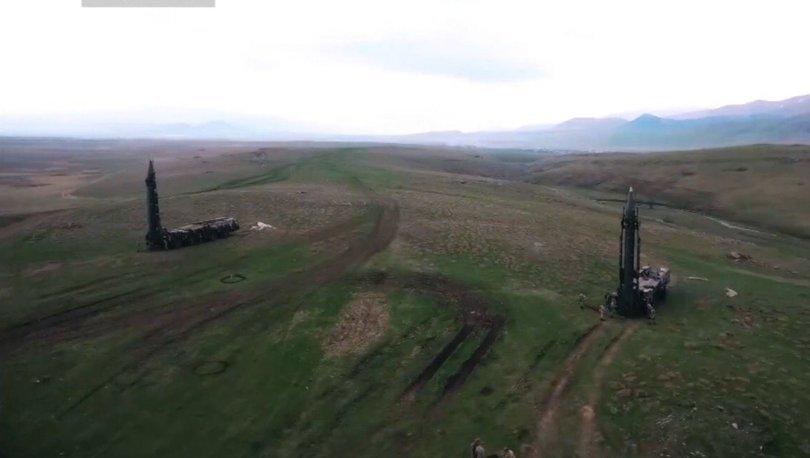Son dakika Azerbaycan Ermenistan! Ermenistan'ın balistik füze sistemi imha edildi! - Haberler