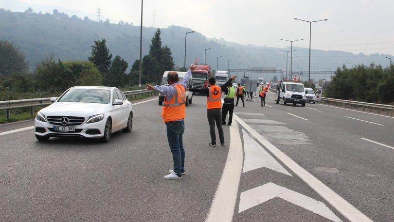 Bolu Dağı Tüneli Ankara yönü trafiğe kapatıldı - haberler