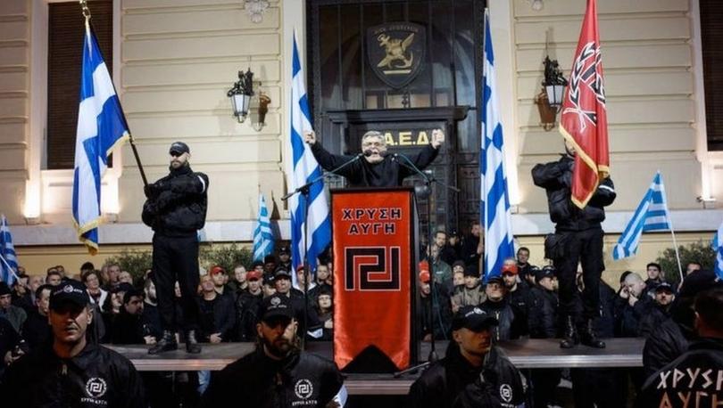 Altın Şafak: Yunanistan'da aşırı sağcı partinin kurucusuna ve yöneticilerine 13'er yıl hapis cezası
