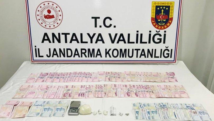 Antalya'daki uyuşturucu operasyonunda 4 kişi yakalandı