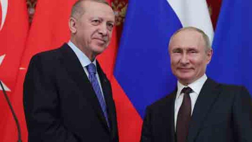 Son dakika! Cumhurbaşkanı Erdoğan, Rus lider Putin ile görüştü