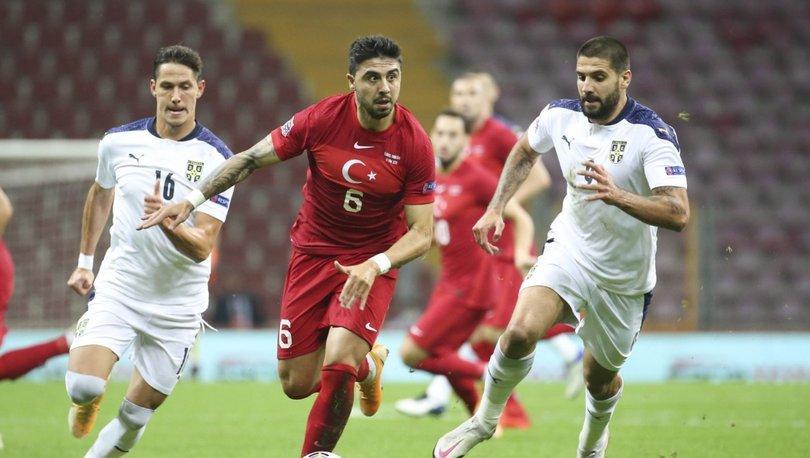 Türkiye: 2 - Sırbistan: 2 MAÇ SONUCU