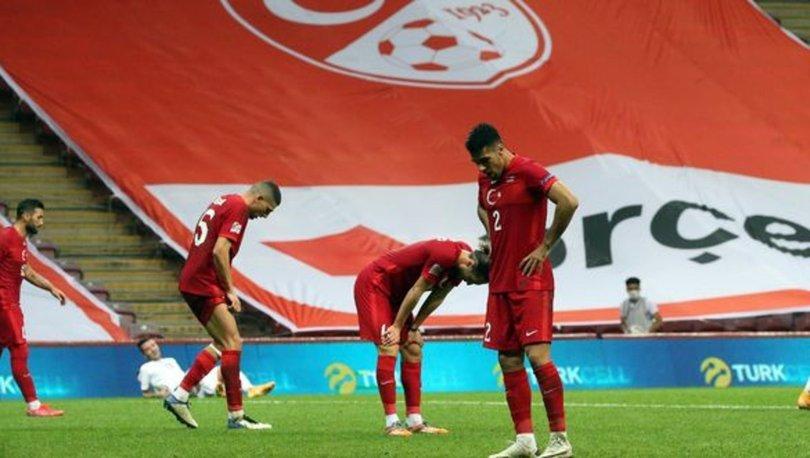 A Milli Takım, UEFA Uluslar Ligi'nde yine galibiyetle tanışamadı