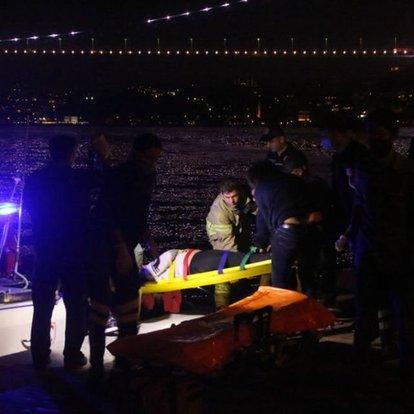 Sarıyer'de genç kız denize atladı, ekipler son anda kurtardı