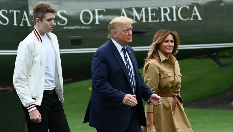Son dakika haberi! Trump'ın oğlu da koronavirüse yakalanmış! Melania Trump açıkladı...