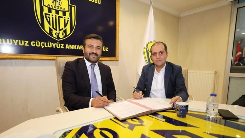 MKE Ankaragücü'nün forma sırt sponsoru belli oldu