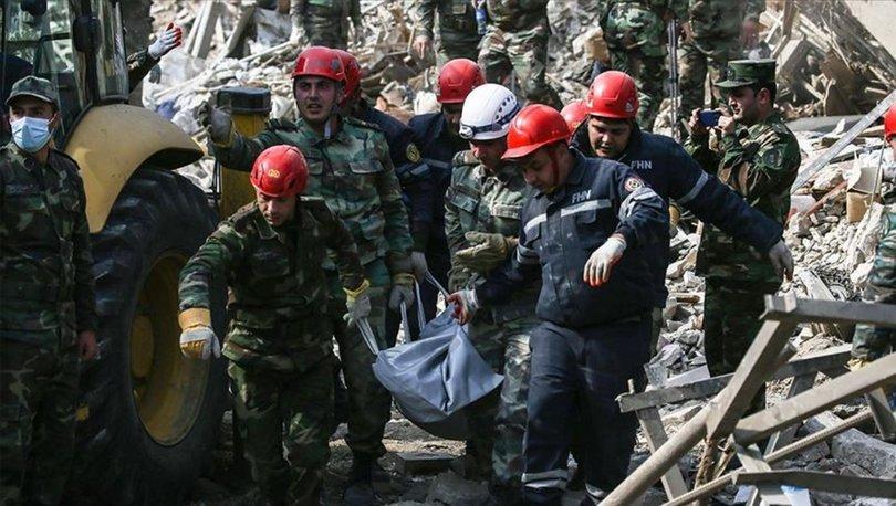 Ermenistan'ın saldırılarında 43 sivil yaşamını yitirdi