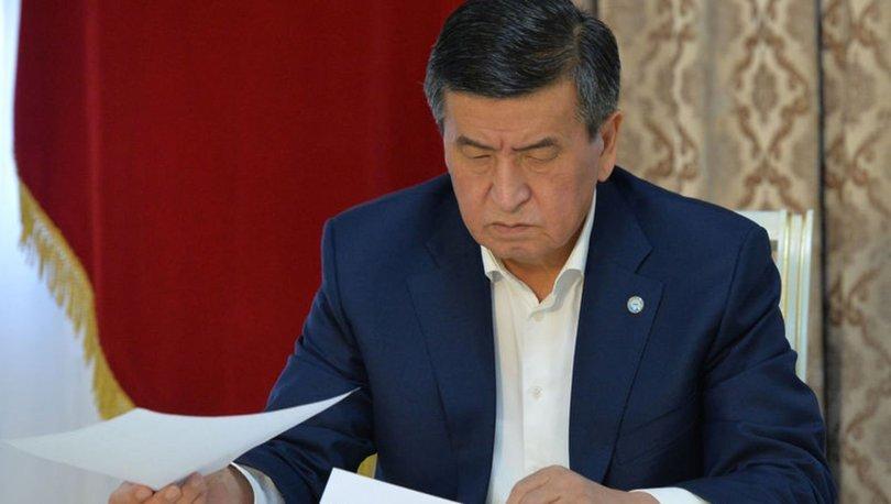 Son dakika! Kırgızistan Cumhurbaşkanı Ceenbekov istifa etti! - Haberler