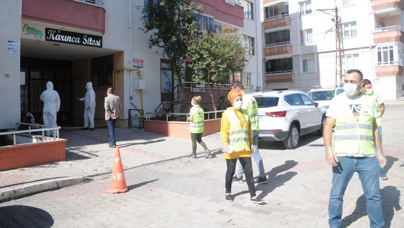 Son dakika: Kırklareli'de 94 daireli siteye karantina!