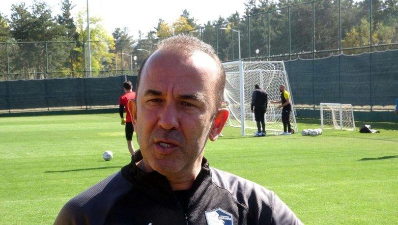Mehmet Özdilek: Seyircili futbol müsabakasına dönmek en büyük hayalimiz