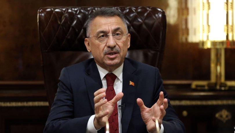 Cumhurbaşkanı Yardımcısı Oktay'dan 'yolsuzluk' iddialarına ilişkin açıklama