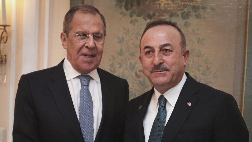 Son dakika: Dışişleri Bakanı Çavuşoğlu, Rus mevkidaşı Sergey Lavrov ile görüştü! - Haberler