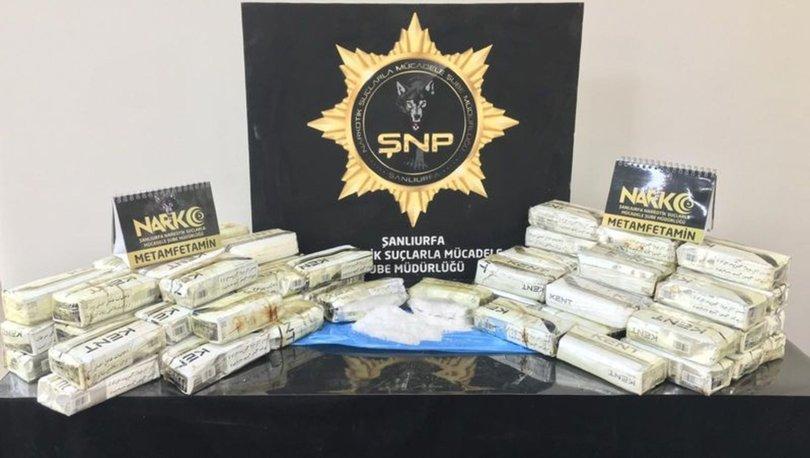 Şanlıurfa'da uyuşturucu operasyonunda 7 kişi tutuklandı
