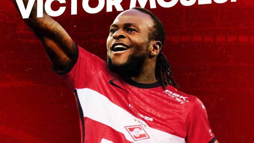 Spartak Moskova, Chelsea'den Victor Moses'ı kiraladı