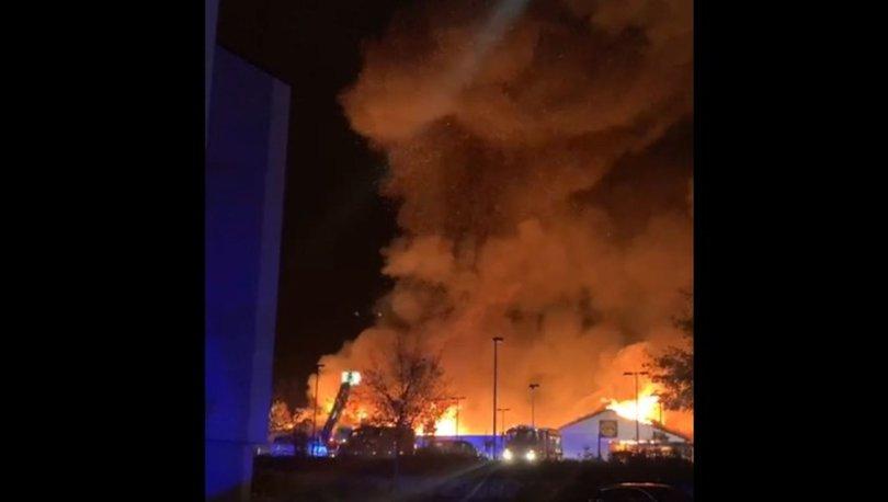 SON DAKİKA HABERİ: Almanya'da korkutan market yangını! - Haberler