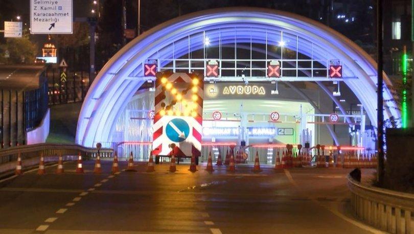 Bakım onarım çalışmaları tamamlanan Avrasya Tüneli trafiğe açıldı