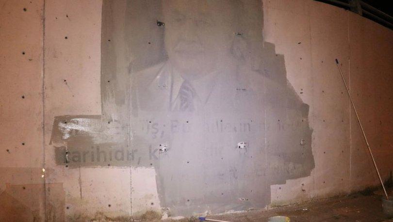 O karar durduruldu! Bolu'da TEM Otoyolu üzerindeki portreler... - Haberler