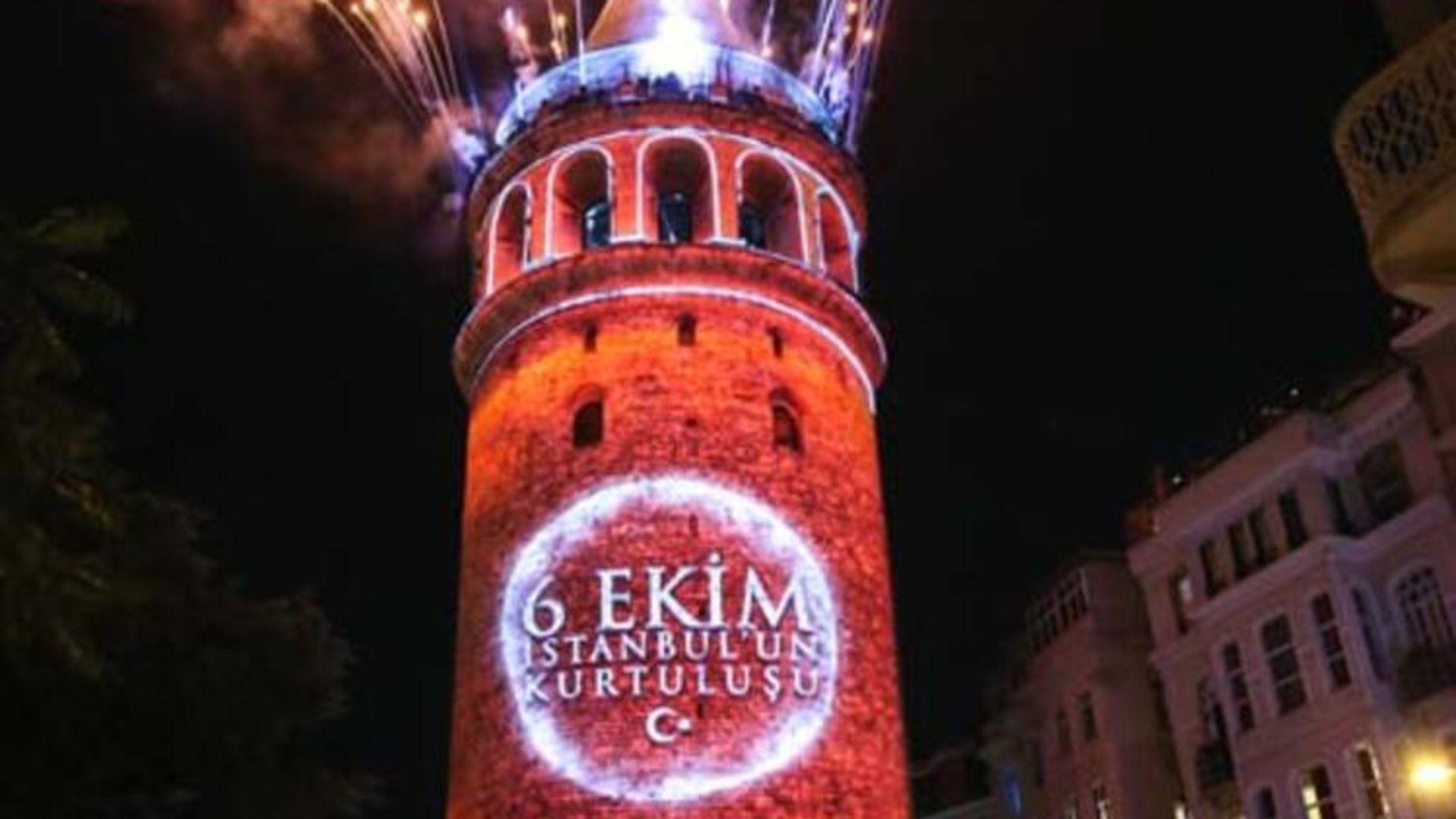 Galata Kulesi'ne ziyaretçi akını