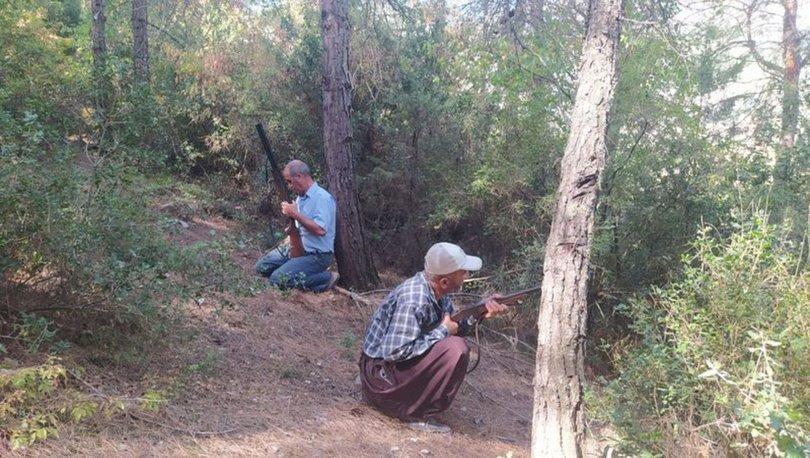 Son dakika! Mersinli köylülerden orman nöbeti! Kundaklamaya karşı tüfekle nöbet tutuyor - Haberler