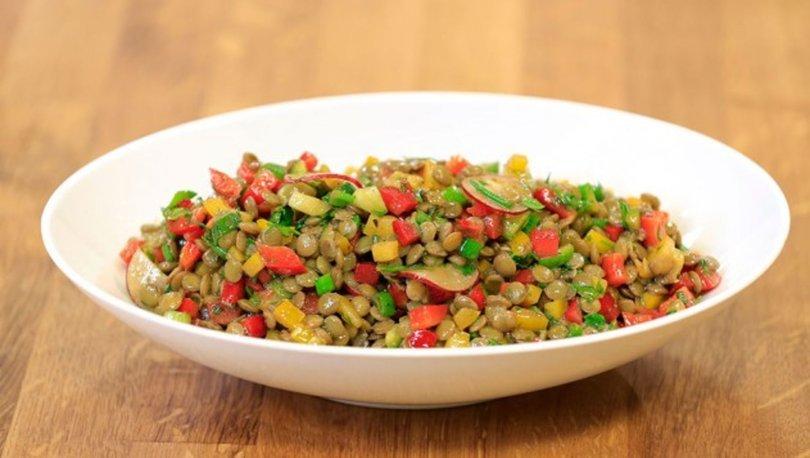 Yeşil Mercimek Salatası tarifi, nasıl yapılır? Yeşil Mercimek Salatası malzemeleri