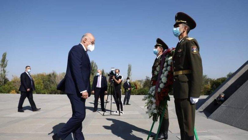 Son dakika: Yunanistan Dışişleri Bakanı Nikos Dendias'tan tepki çeken Ermenistan ziyareti! - Haberler