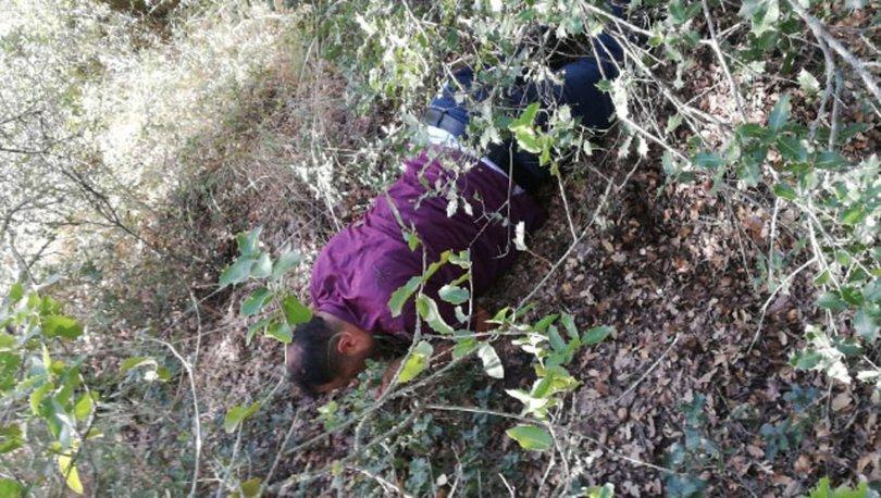 1 yıldır ormanlık alanlarda saklanan şüpheli JASAT ekiplerince yakalandı - HABERLER