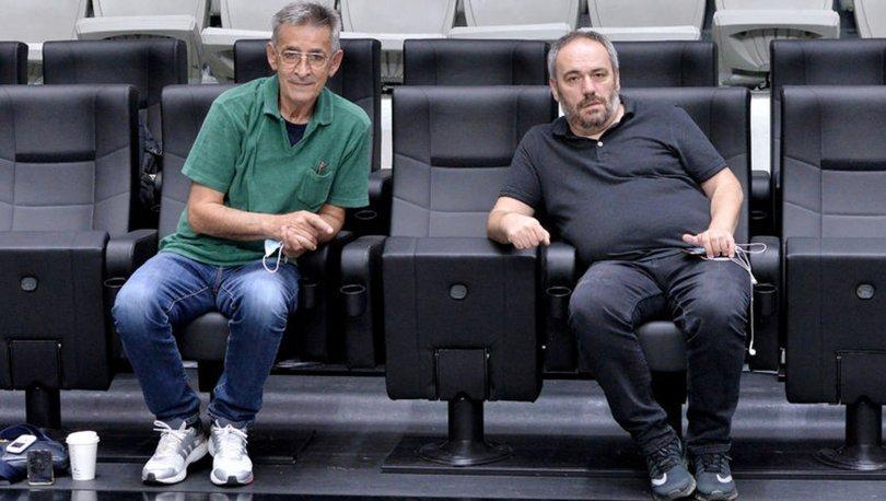 Bogdan Tanjevic, Beşiktaş Erkek Basketbol Takımı'nın antrenmanını izledi
