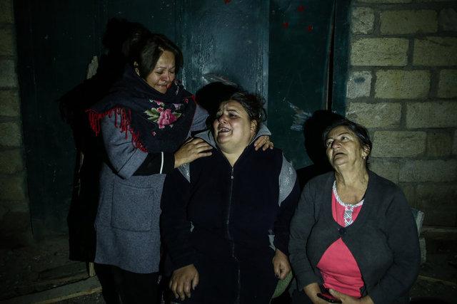 Son dakika! Ermenistan'ın saldırdığı Azerbaycan Gence'den kahreden fotoğraflar! Ermenistan... - Haberler
