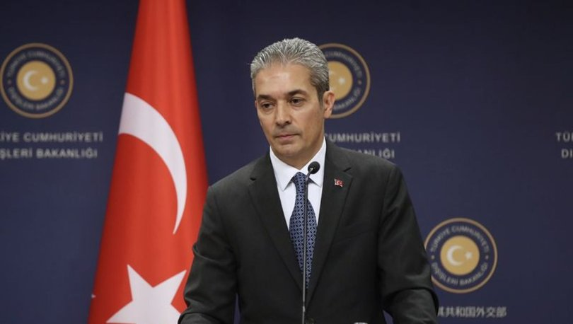Dışişleri Bakanlığı'ndan Yunan Dışişleri Bakanı Dendias'a tepki