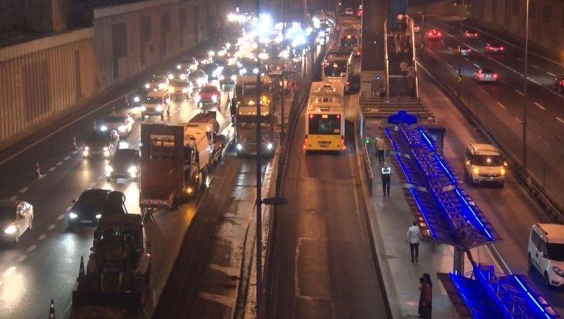 Edirnekapı metrobüs durağında yenileme çalışması nedeniyle Söğütlüçeşme istikameti kapatılacak