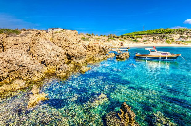 Avrupa'nın en güzel 10 adasından biri Türkiye'de!