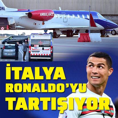 Cristiano Ronaldo'nun ambulans uçakla İtalya'ya dönüşü tartışma konusu oldu - Haberler
