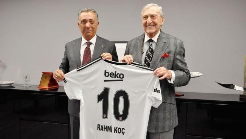 Beşiktaş'tan Rahmi Koç'a geçmiş olsun mesajı