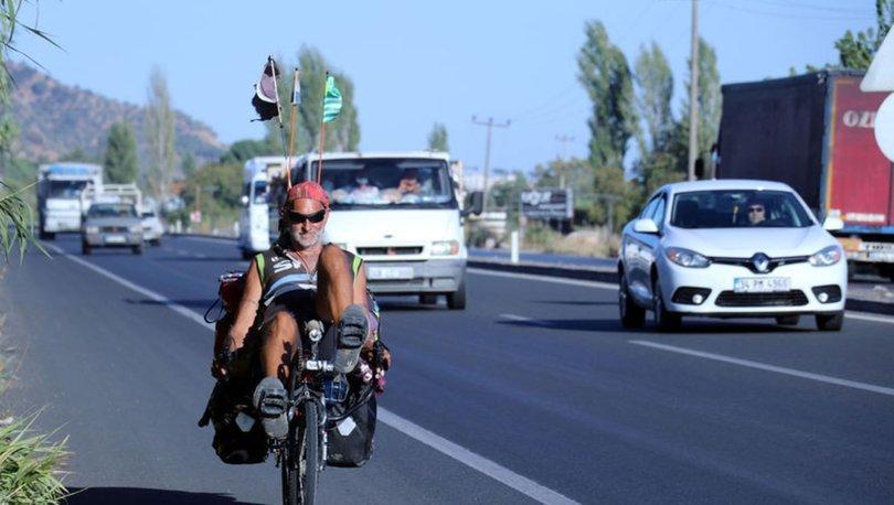 ABD'li gezgin bisikletçi, hayran kaldığı Türkiye'ye 5 yıl sonra yeniden geldi