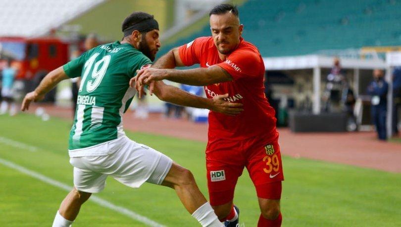 Konyaspor: 1 - Yeni Malatyaspor: 1   MAÇ SONUCU