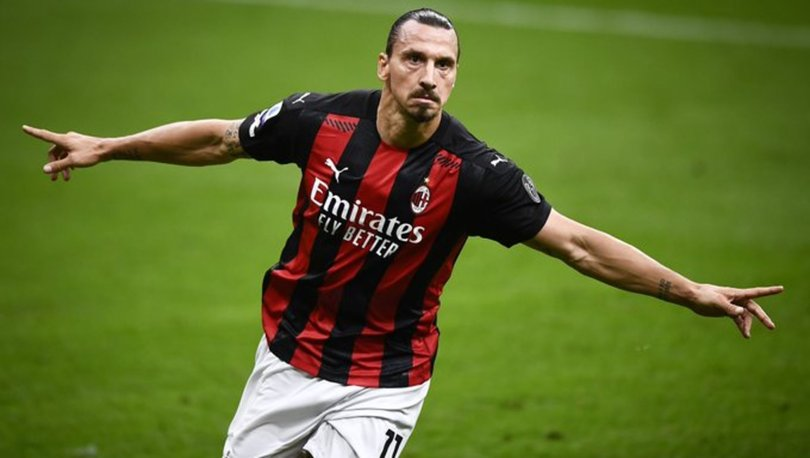 Zlatan Ibrahimovic derbide 3 dakikada 2 gol attı!