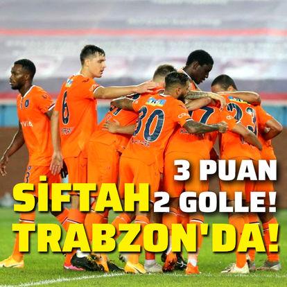 Trabzonspor: 0 - Başakşehir: 2 maçı SONUCU