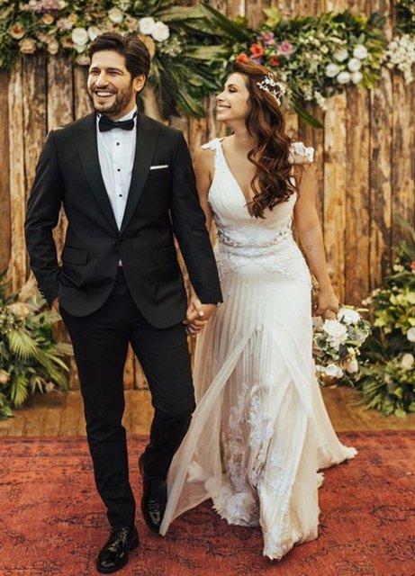 Begüm Birgören ile Mehmet Celil evlendi - Magazin haberleri