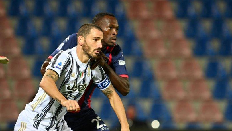 Juventus, Crotone ile berabere kaldı, Merih Demmiral 11'de başladı