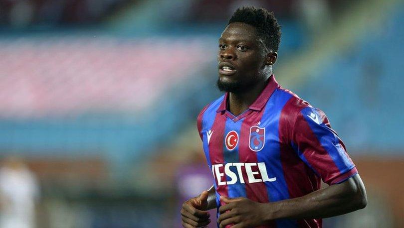 Trabzonsporlu futbolcu Ekuban'ın Kovid-19 test sonucu pozitif çıktı