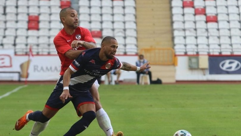 Antalyaspor: 1 - Gaziantep FK: 1 (MAÇ SONUCU)