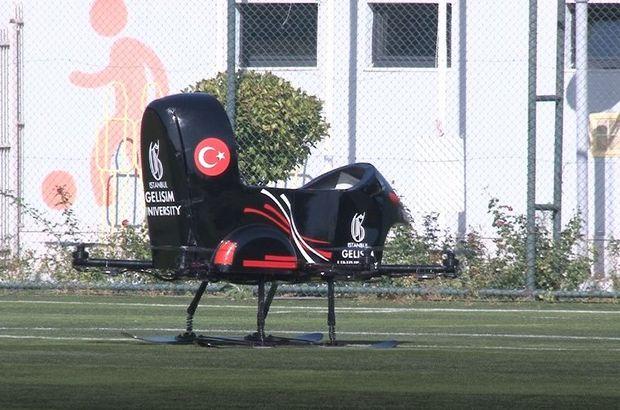 Uçan araba 'Tusi'nin test sürüşlerine başlandı!