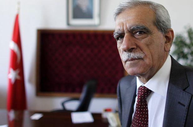 Ahmet Türk serbest bırakıldı