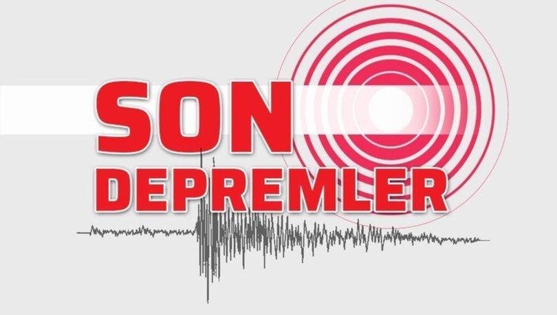 Deprem mi oldu? 19 Ekim - Kandilli - AFAD son depremler listesi