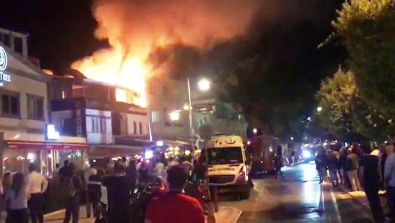 Bodrum'da butik otelde korkutan yangın