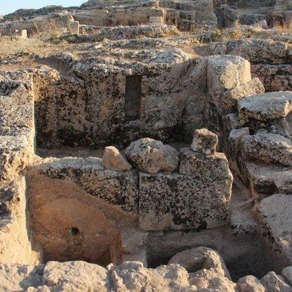 Perre Antik Kenti'nde 9 adet üzüm işliği bulundu