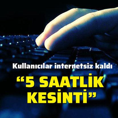 Türkiye genelinde internet kesintisi